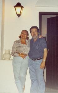 Ofelia y yo. Cádiz, 1992