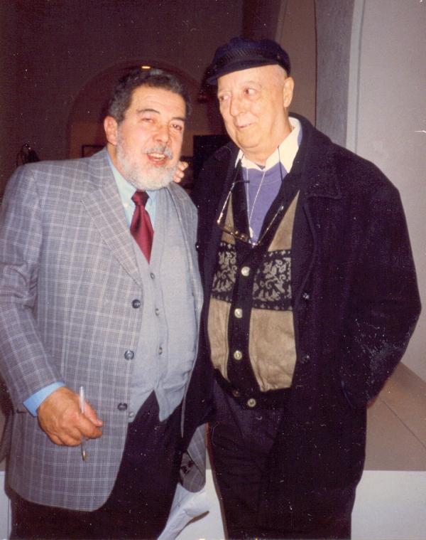 Mi última foto con Fernando. Cádiz, 1998.