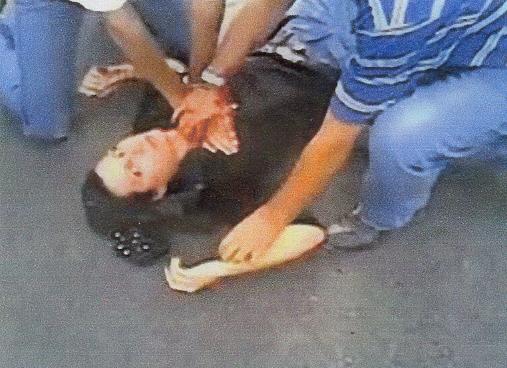 Irán muchacha muerta
