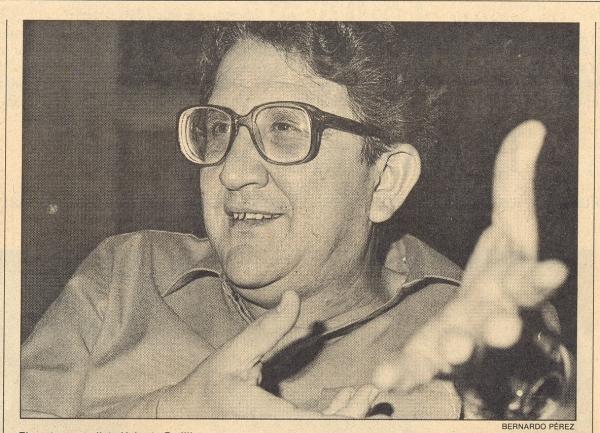 El poeta y novelista Heberto Padilla