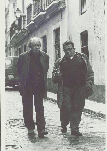 De Ory (izquierda) y Fernández Palacios en Cádiz.