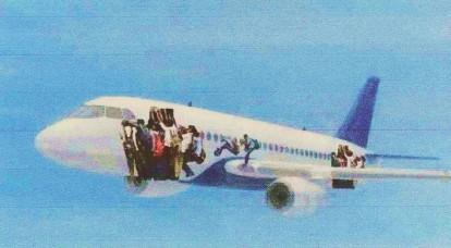 Primer avión que ha salido de Cuba tras aprobarse la reforma migratoria de Raúl Castro.