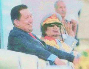 Con Khadafy.
