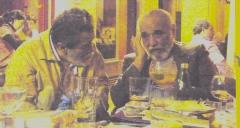 Alcides (derecha) y yo en Logroño. 2011.
