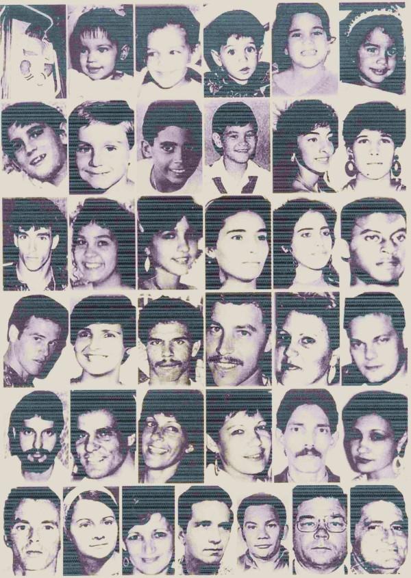 """FALLECIDOS EN EL HUNDIMIENTO DEL """"13 DE MARZO"""""""