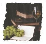 Libros con uvas