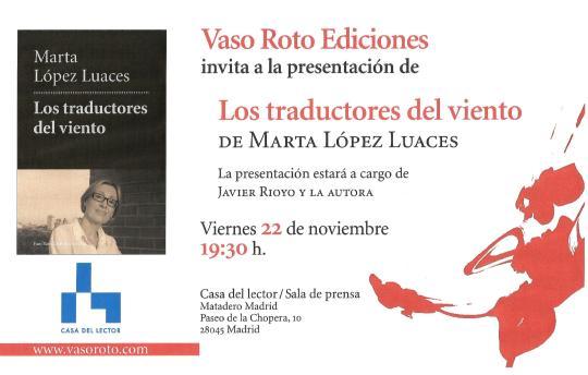 López Luaces novela