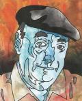 Neruda dibujo