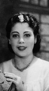 Así era mi madre el 13 de septiembre de 1936, día en que me trajo a este mundo en la ciudad de Santa Clara, en la isla de Cuba.