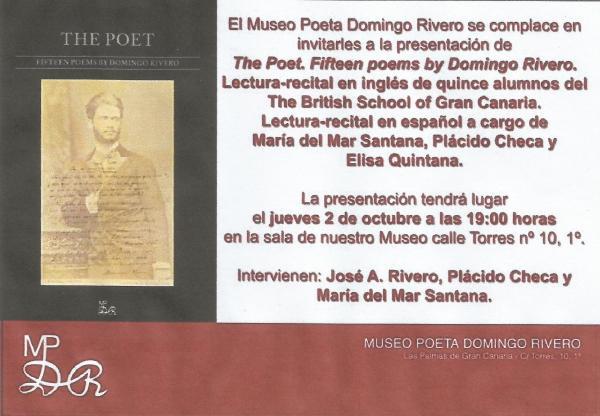 Domingo Rivero libro