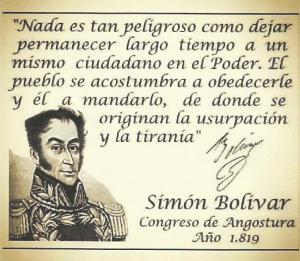 Bolívar pensamiento