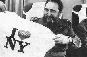Castro en Nueva York en 1979.