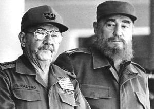 Fidel y Raúl foto