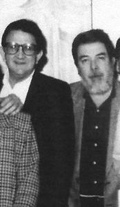 Padilla y yo. Estocolmo, 1994.