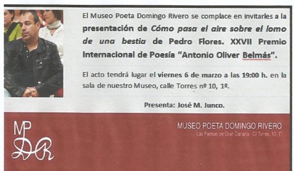 Pedro Flores presentacion