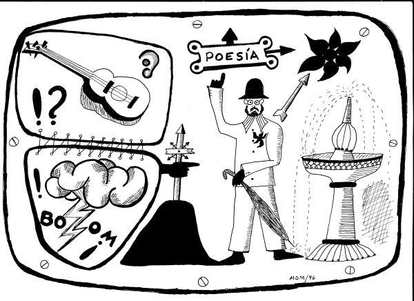 Dibujo de MDM. 1967-