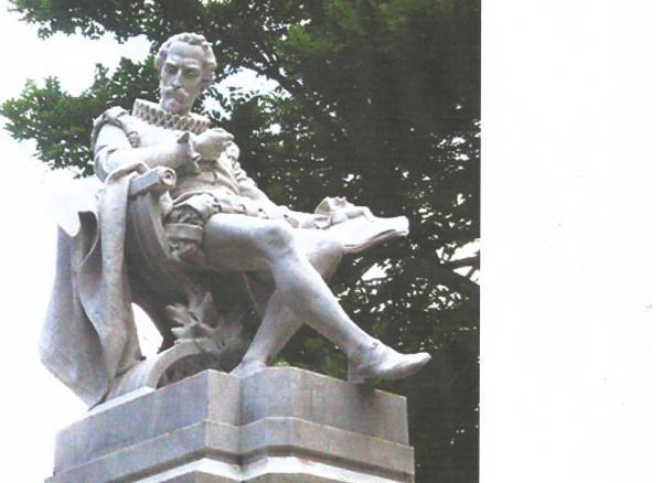 Cervantes estatua Habana