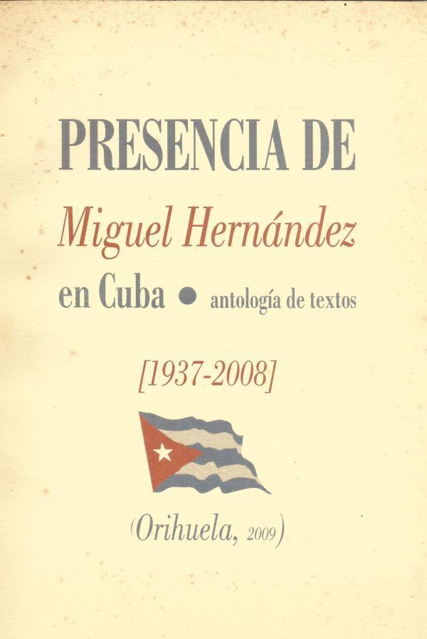 Miguel Hernández libro