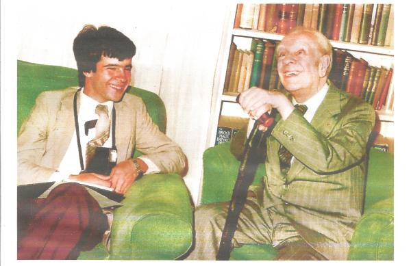 Borges foto entrevistador