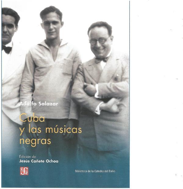 CUBA MUSICAS NEGRAS Adolfo Salazar