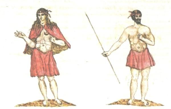 Indígenas de La Gomera