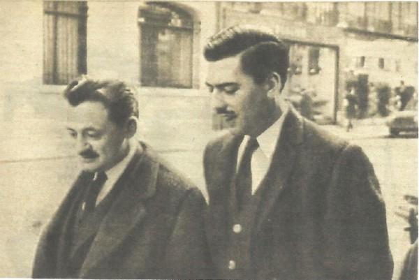 Vargas Llosa y Benedetti foto